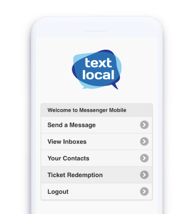 Local Sales Apps >> Free Textlocal Mobile App For Business Sms Messaging